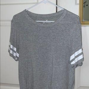 Grey soft T-shirt